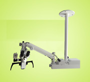 New Ophthalmic Surgical Operating Portable Wall Mount Microscope 3 Step Led