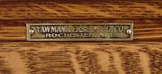 Antique1908 Era Yawman And Erbe Oak 9 Draw Filing Cabinet.local Pickup Only