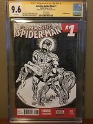 Al Milgrom Sketch Commission Cgc Ss Spiderman And Black Cat Cover Recreation