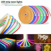 100ft 12v Smd2835 Silicone Led Neon Tube Light Room Boat Car Home Party Decor