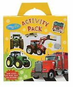 Tractors And Trucks Activity Pack [busy Kids]