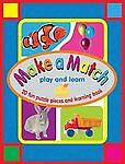 Novelty Bks. Make A Match By Book Company Staff 2004 Childrenand039s Board Books