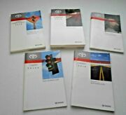 2014 Toyota Camry Hybrid Owners Manual Set + Nav Book Pre Owned