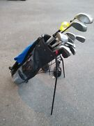 Ping Eye 2 Complete Golf Set With Irons Taylor Made Woods Putter And Bag