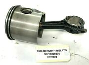 Mercury 2006 Outboard 90hp 115hp Optimax Piston And Con Rod 879858t03 Freshwater