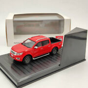Nissan Navara 4x4 Pickup Truck Red Diecast Models Limited Collection 143