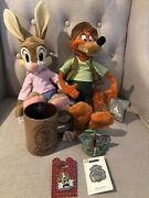 Disney Parks Splash Mountain Lot Song Of The South Plush Mug Ornament And 2 Pins