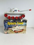 Marx Space Tank 1960s Battery Operated Louis Marx And Co