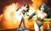 Yamato Fantasy Figure Gallery Wonder Woman Resin Statue By Luis Royo 154 Of 500