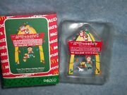 1990 Mcdonalds Ornaments By Enesco- Over One Million Holiday Wishes 1st