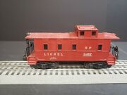 Lionel O Scale S.p. 6357 Red Caboose With Custum Switch Light 320