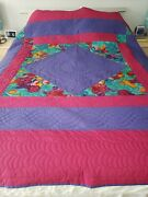 Amish Quilt Village Quilts Bars And Diamond King Size 87 X 87