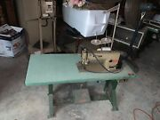 Brother Exedra Industrial Sewing Machine Db2-b737-903 With Table 3 Phase