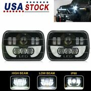 2x 5x7 6x7 Hi And Lo Day Driving Light Demo Eyes Square Headlight Assembly