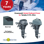 Oceansouth Vented / Running Cover For Yamaha Outboards 2 Cyl 212cc