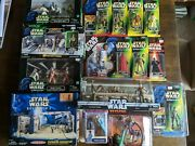 Star Wars Collectible Toys Action Figures Nib Lot Episode I Potf Cantina Other