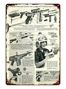 1967 Ad Lost In Space Helmet Ray Gun Toy Metal Tin Sign Garden Bar Pub Signs