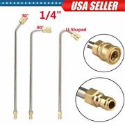 Washer Extension Gutter Rod Cleaner Wand Attachment Accessory High Pressure Rod