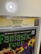 Fantastic Four 78 Cgc 7.5 Ss Stan Lee Silver Age Rare Thing No More