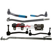 8pc Front Sway Bar Tierod Drag Link For Ford Excursion F-250 Super Duty 4x4