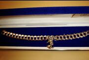 Sterling Silver Charm Bracelet Disney Store Limited Edition 6 Friends Charms Nib