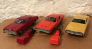 Proctor And Gamble Funmate Go Car Cougar, Mach 1, Torino W/ Launcher Lot Of 3