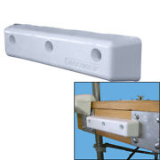 Dock Edge 1058-f Protect Straight Hd 12 Pvc Bumpers