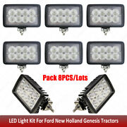Led Work Lights Kit For Ford New Holland 86708670a87708770a88708870a8970++