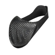 Halloween Cosplay Costume Real Carbon Fiber Party Dance Cycling Half Face Mask
