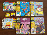 Leap Frog My First Leappad Lot Of 6 Games Cartridges And Books Disney Preschool