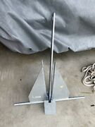 Danforth Style Anchor Hot Dipped Galvanized 6kg 13lb Boat Marine