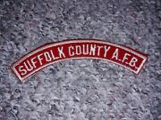 Suffolk County Air Force Base Strip Rwh Rws Red White Boy Scout Lsp Council