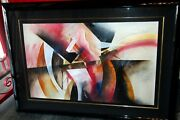 Large Anthony Pettera And039innocence On Paper Gorgeous Details Signed 48 X33.75