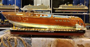 Canada Steamship Lines Niagara Handcrafted Wooden Ship Model With Lights 47