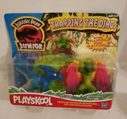 Vintage 2001 Playskool Jurassic Park Junior Trapping The Dinos New In Package