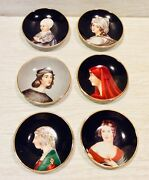 S G K China, Set Of 6, Made In Occupied Japan, 4 Inches