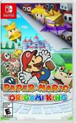 Paper Mario The Origami King Nintendo Switch, 2020 Brand New Factory Sealed