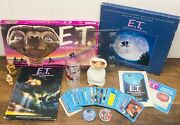 Huge Vintage E.t. Lot - The Extra-terrestrial Candle Buttons Game Mold Figures