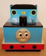 Thomas The Tank Engine Wooden Toy Chest Ride-on Train