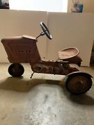 Midwester Tractor Pedal Car Vintage Mtd