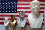 Smiling Donald Trump Statue Bust 45th President Kag 2020 3d Printed 4 6 8 12