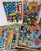 Large Batman And The Outsiders Comic Book Lot -- Includes Early Issues Fbc-112
