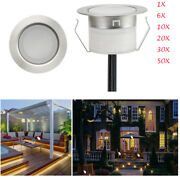 45mm Led Deck Walkway Light Garden Recessed Step Outdoor Pathway Lamp Warm White