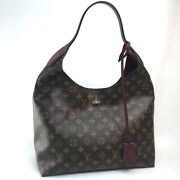 Louis Vuitton M43547 Monogram Flower Hobo Shoulder Bag Monogramcanvas
