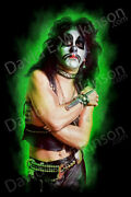 Kiss The Originals Series Peter Criss By Artist David E. Wilkinson