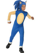 Childs Sonic The Hedgehog Generations Boy Costume Large 12-14