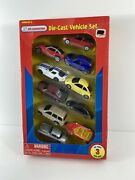 Kid Connection Die-cast Vehicles Set Of 10 New Jeep Chrysler Plymouth Nice