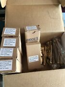 Emtek Bearing Hinges 4andrdquox4andrdquo3.3mm Polished Brass 3pcs With Ball Ends