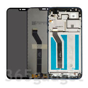 Us Lcd Screen Touch Digitizer Assembly For Motorola Moto G7 Power Xt1955-5 157mm