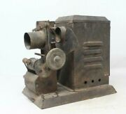 Antique Old Iron Handcrafted Baby Joy Power Bulb Photo Reel Hand Roll Projector